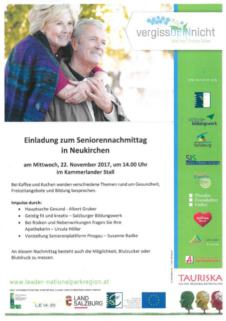 Seniorennachmittag in Neukirchen